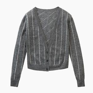 NWT MM Lafleur Siggy Sweater, Striped Slate